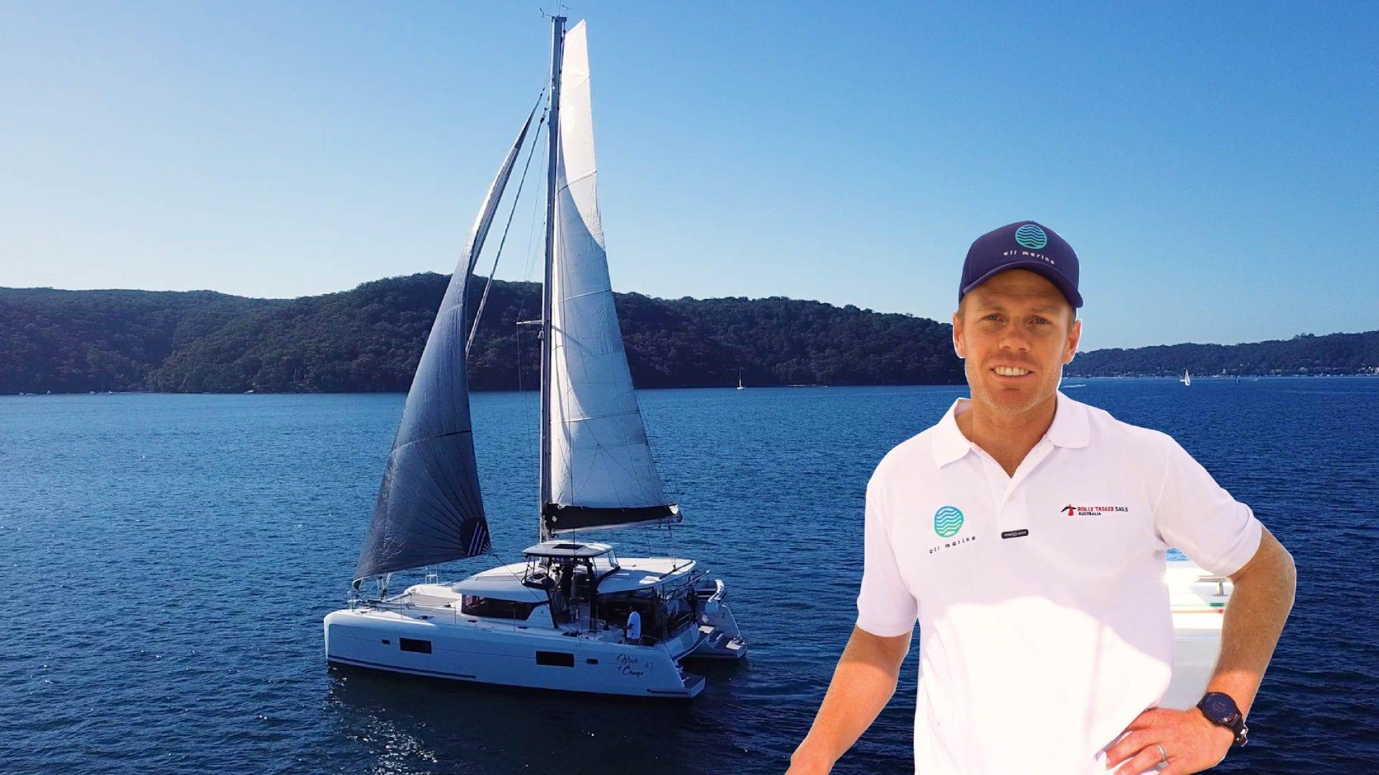 Catamaran Sail Trim with Sam Newton