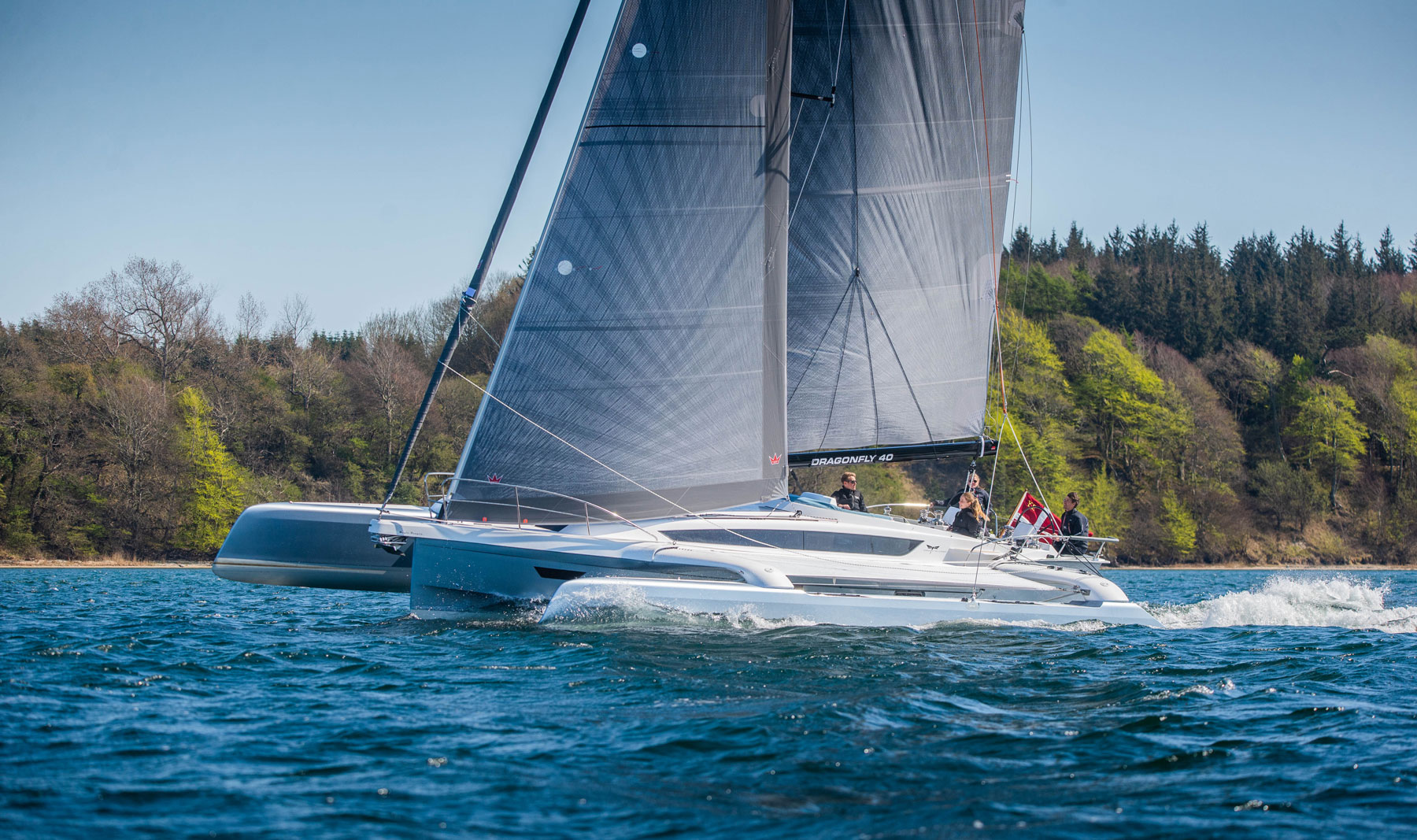 DRAGONFLY 40 WINS MULTIHULL OF THE YEAR