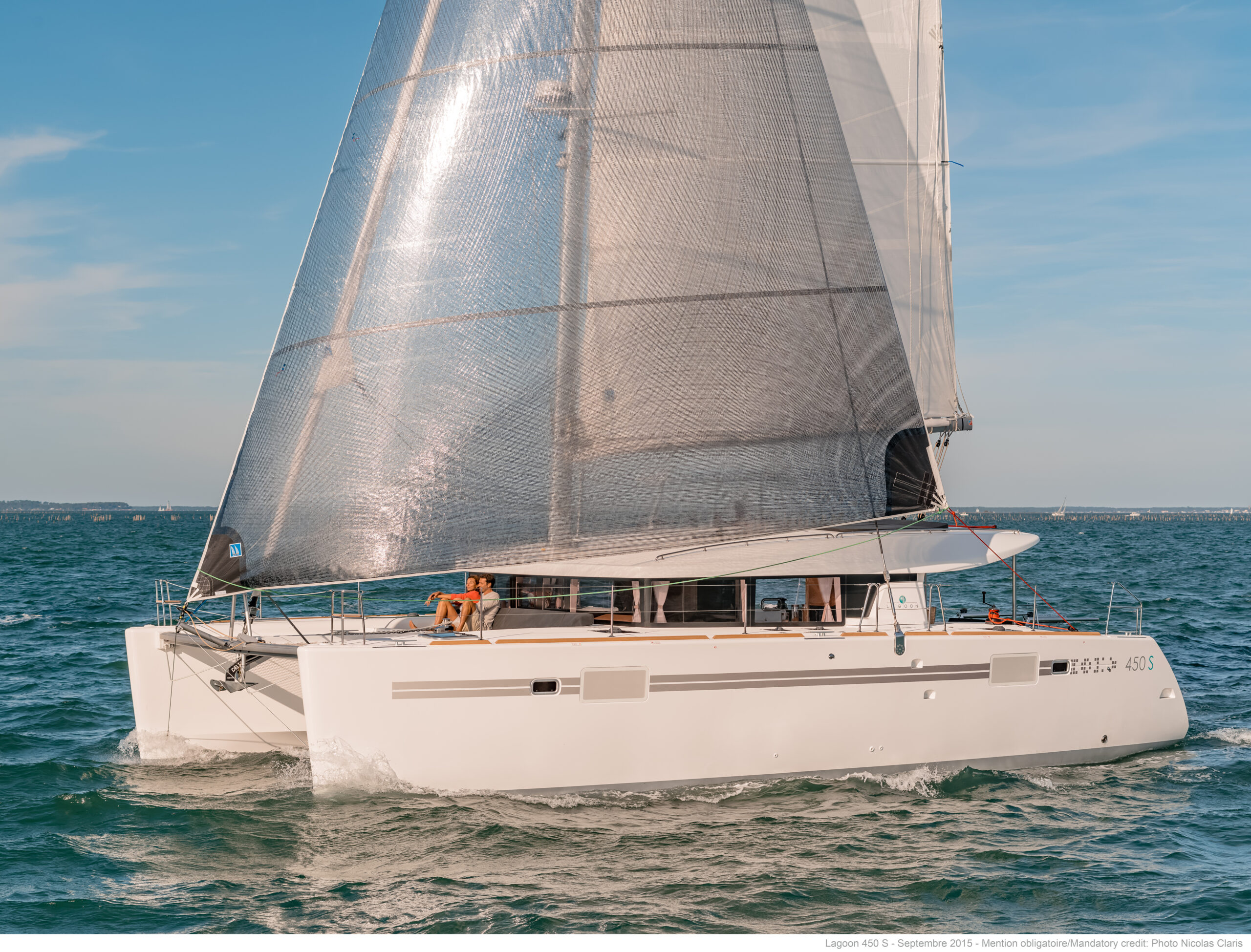 Own 50% of a Lagoon 450S on Sydney Harbour