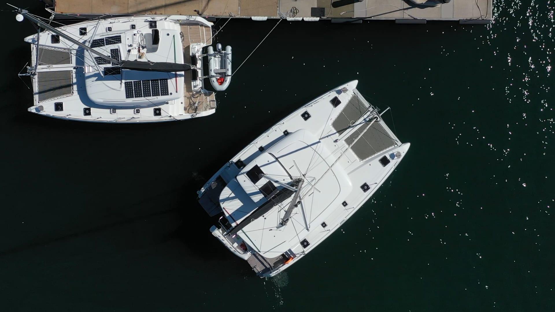 How To Park Your Catamaran