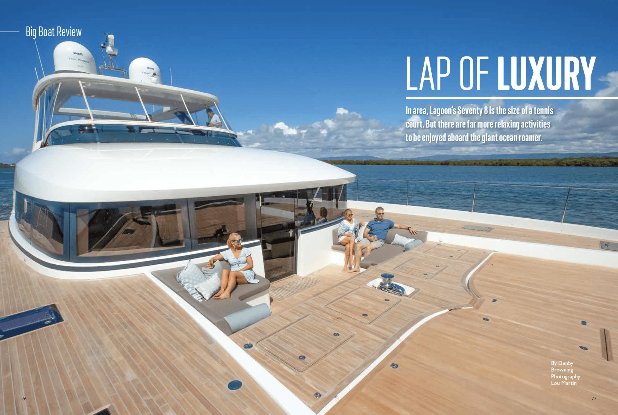 Lagoon SEVENTY 8 Review – LAP OF LUXURY