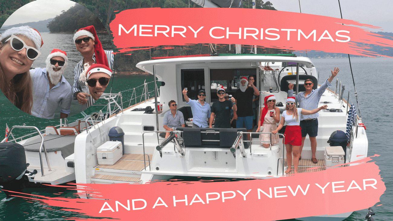 Merry Christmas on a Lagoon 40