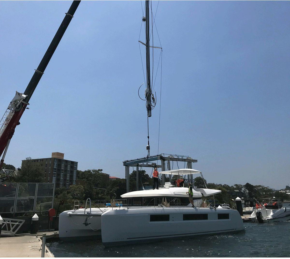 Lagoon 50 unbelievable upgrades with John Pruim
