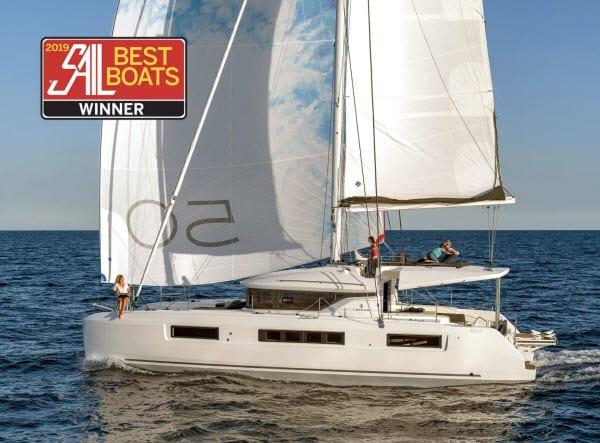 Lagoon 50 Wins 2019 Sail Magazine Best Boats Award