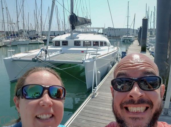 """Living the dream"" on board a Lagoon 380"