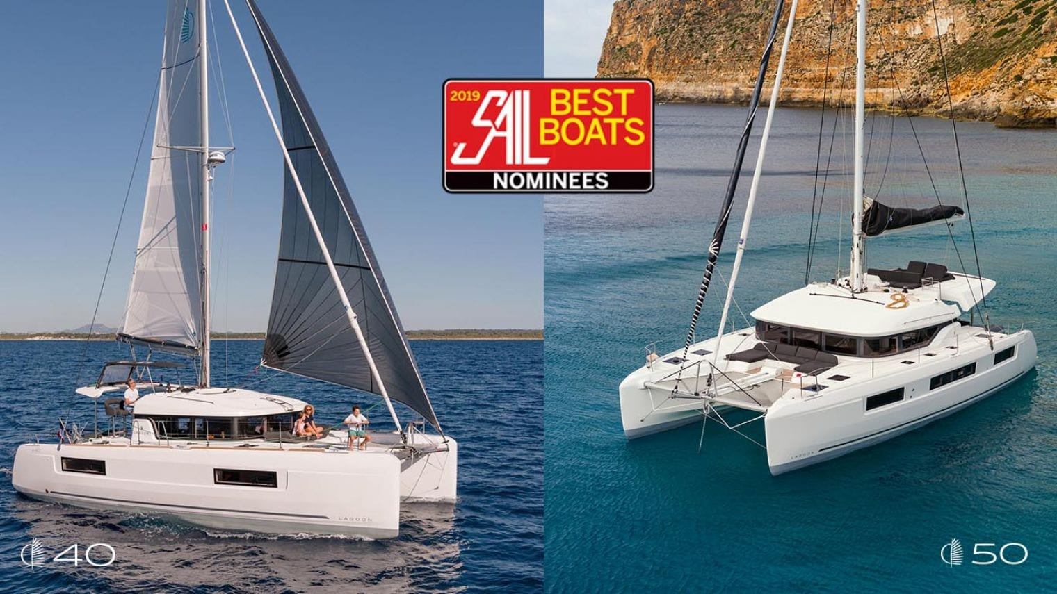 Lagoon 40 and 50 Nominated for SAIL Magazine's 'Best Boats 2019' Award