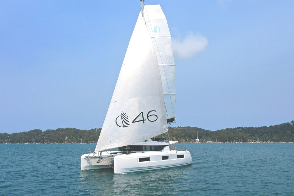 Day onboard the Lagoon 46