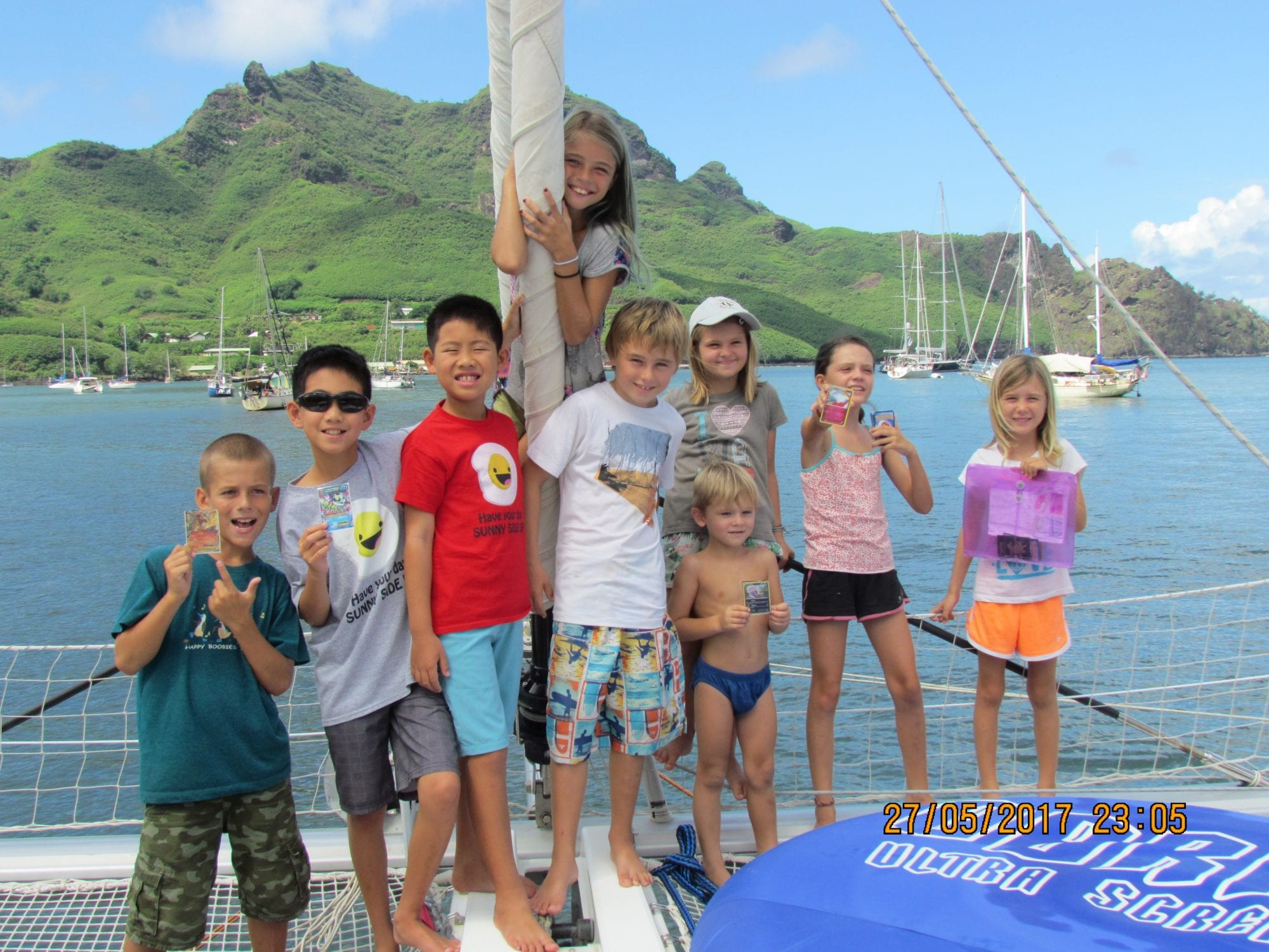 Sailing The World With Children