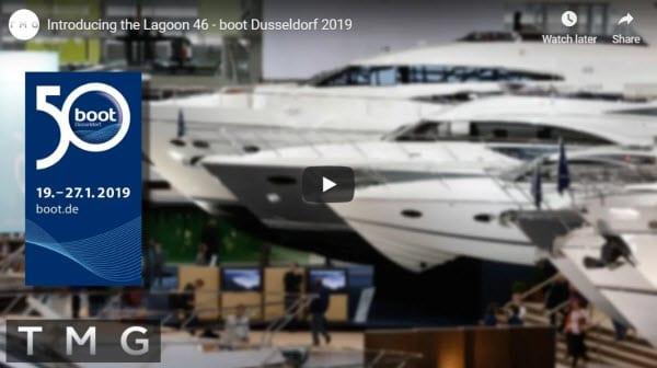 Lagoon 46 walkthrough at Boot Dusseldorf