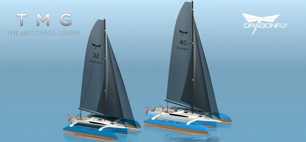 TMG Announces Two New Members of the Dragonfly Trimaran Family