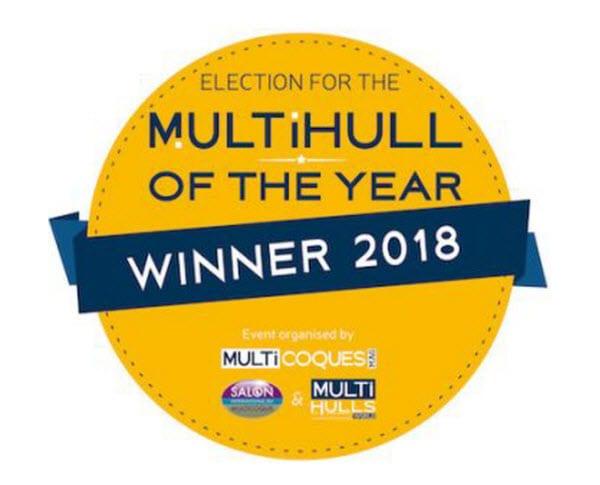 Lagoon 50 wins Multihull of the Year!