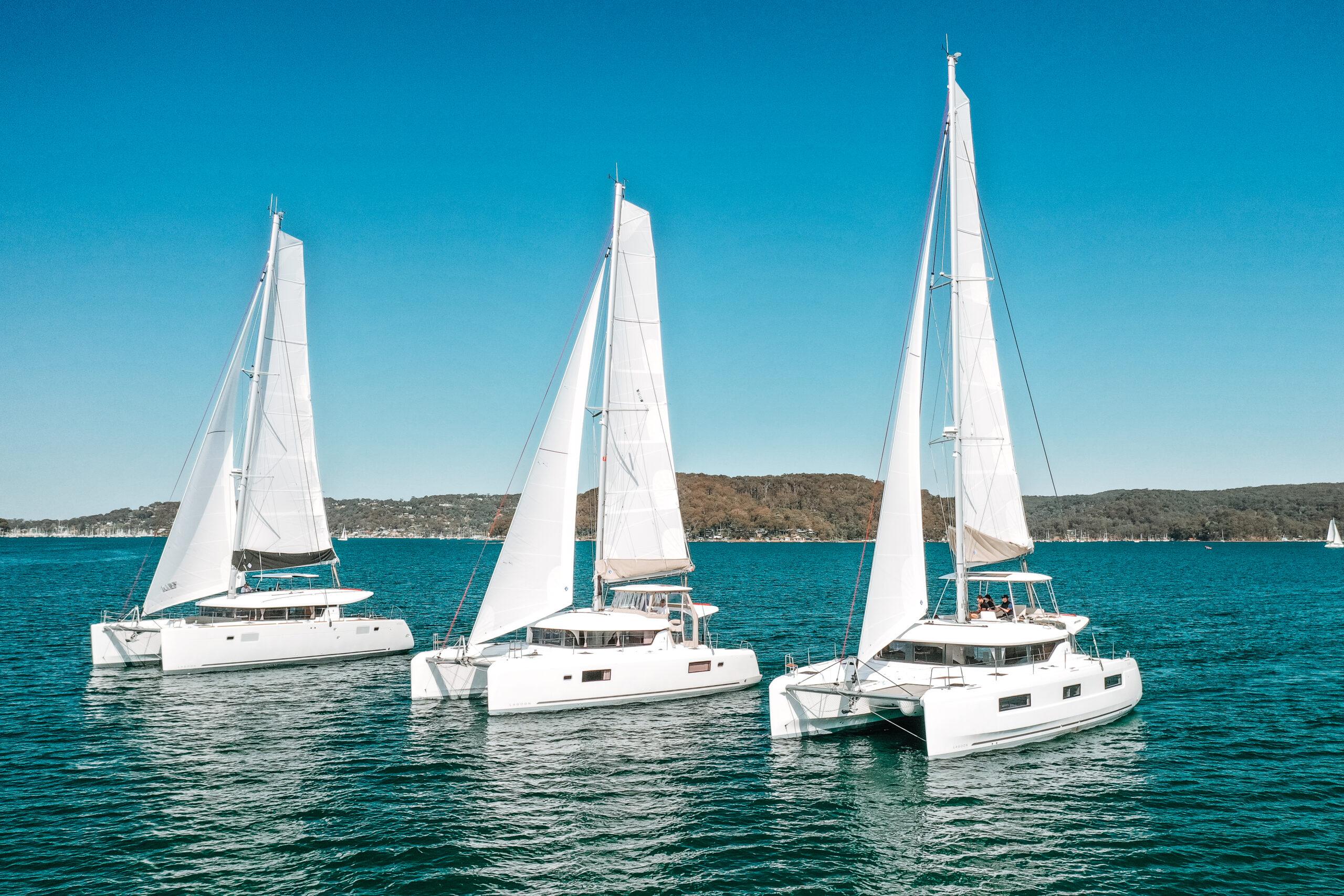 Lagoon Catamaran Handovers Australia