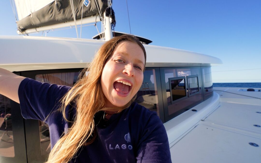 First Ever Offshore Catamaran Experience